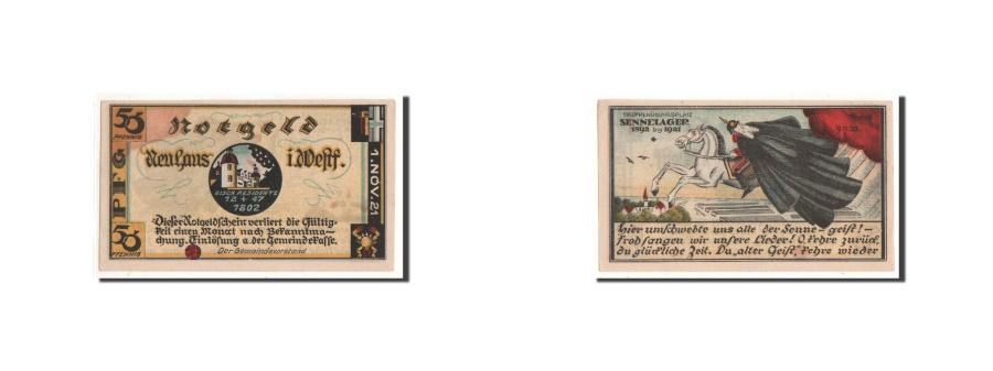 World Coins - Germany, Neuhaus, 50 Pfennig, cavalier, 1921, 1921-11-01, UNC(65-70), Mehl:945.1