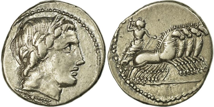 Ancient Coins - Coin, Anonymous, Denarius, Roma, AU(50-53), Silver, Babelon:226