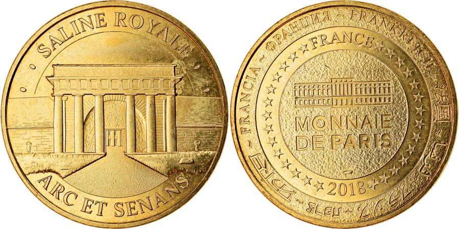 World Coins - France, Token, Arc et Senans -  Saline royale n°5, 2018, MDP,