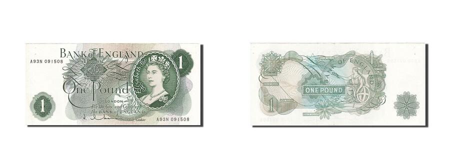 World Coins - Great Britain 1 Pound 1962 KM:374c 1962-1966 AU(55-58) A93N 091505