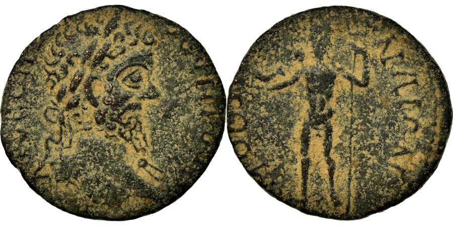 Ancient Coins - Coin, Argolis, Septimius Severus, Bronze Æ, 193-211, Methana, Very rare