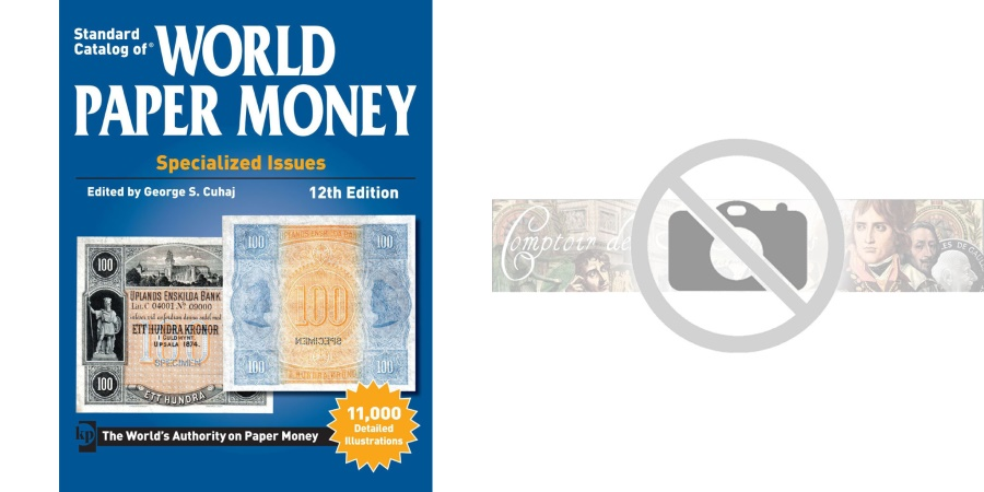 World Coins - Book, Billets, World Paper, Specialized Issues, 12th Edition, Safe:1844