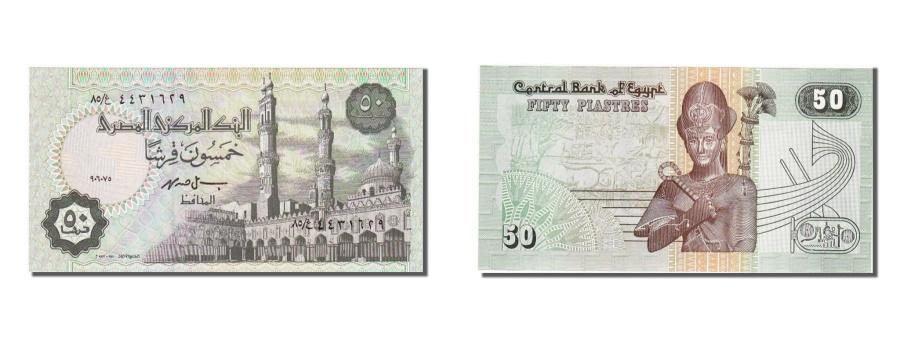 World Coins - Egypt, 50 Piastres, 1981, KM #55, UNC(65-70), 4431629