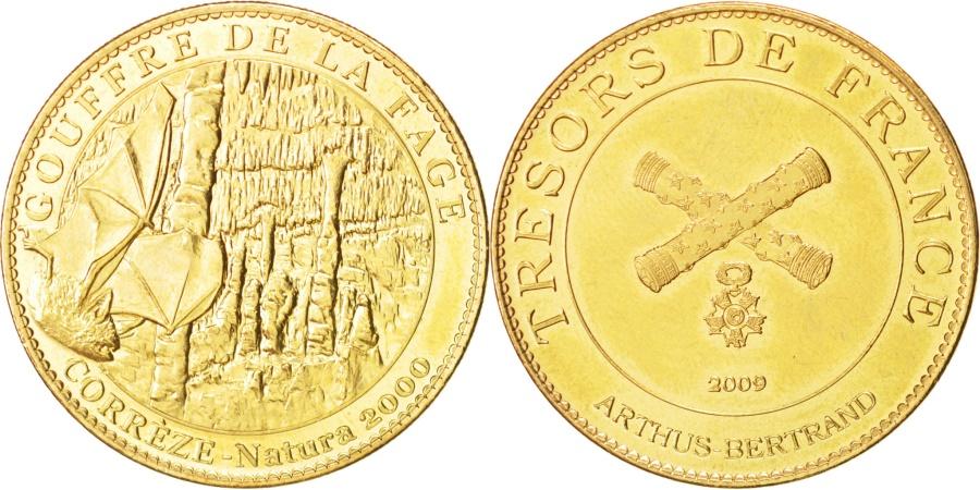 World Coins - France, Tourist Token, Arts & Culture, Token, 2009, , Cupro-nickel...