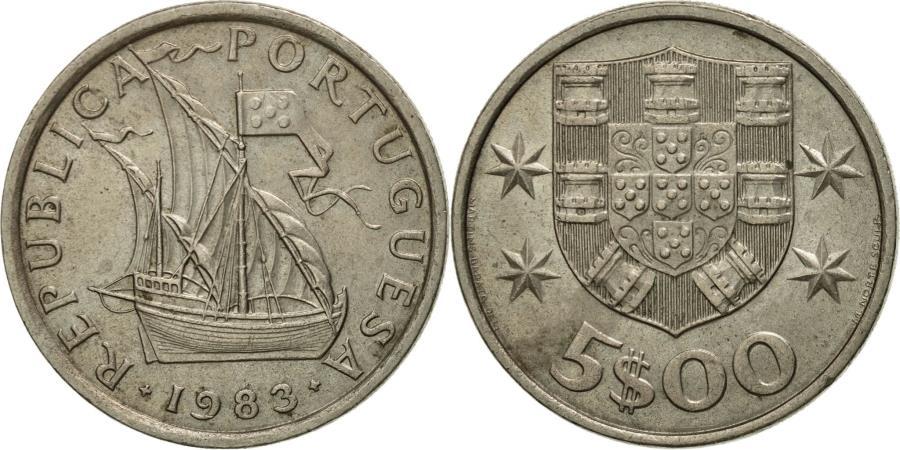 World Coins - Coin, Cyprus, 5 Cents, 1983, , Nickel-brass, KM:55.3