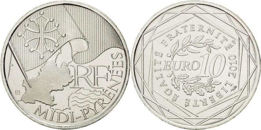World Coins - FRANCE, 10 Euro, 2010, Paris, KM #1663, , Silver, 29, 10.00
