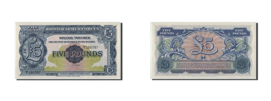 World Coins - Great Britain, 5 Pounds, KM:M23, UNC(65-70)