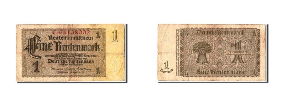 World Coins - Germany, 1 Rentenmark, 1937, KM #173b, 1937-01-30, VF(20-25), C.64138002