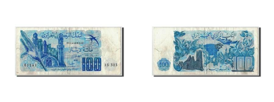 World Coins - Algeria, 100 Dinars, 1981, KM:131a, 1981-11-01, VF(20-25)