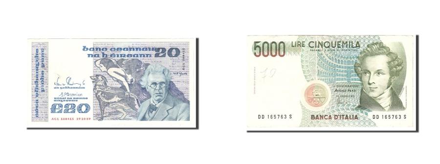 World Coins - Ireland - Republic, 20 Pounds, 1989, KM:73c, 1989-10-19, EF(40-45)