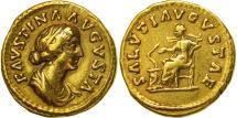 Faustina II, Aureus, Rome, EF(40-45), Gold, RIC:717a