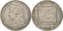 France, Patey, 25 Centimes, 1903, Paris, VF(30-35), Nickel, KM:855, Gadoury:362