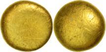 Senones, Globular 1/8 Stater, EF(40-45), Gold, Delestrée:2542var