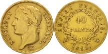 World Coins - France, Napoléon I, 40 Francs, 1810, Lille, Gold, KM:696.6, Gadoury:1084