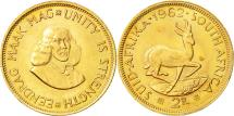 World Coins - Coin, South Africa, 2 Rand, 1962, AU(55-58), Gold, KM:64
