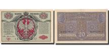 World Coins - Poland, 20 Marek, 1917, 1917, KM:14, UNC(60-62)