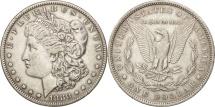 Us Coins - United States, Morgan Dollar,1880, Philadelphia, EF(40-45), KM 110