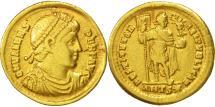 Valens, Solidus, Antioch, EF(40-45), Gold, RIC:2d-xxix