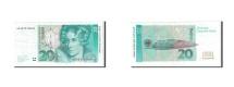 GERMANY - FEDERAL REPUBLIC, 20 Deutsche Mark, 1991, KM:39a, 1991-08-01