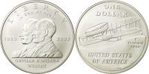 Us Coins - United States, Dollar, First Flight Centennial, 2003, MS(65-70), Silver, KM:349