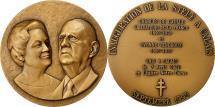 World Coins - France, Medal, Inauguration de la Stèle de Charles de Gaulle à Calais, 1995