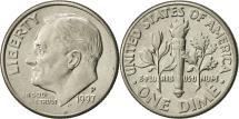 Us Coins - United States, Roosevelt Dime, Dime, 1997, U.S. Mint, Philadelphia, AU(55-58)