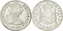 World Coins - Mexico, Charles III, 2 Réales, 1783, Mexico City, VF(30-35), Silver, KM:88.2