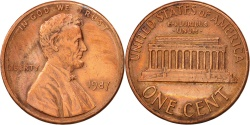 Us Coins - United States, Lincoln Cent, 1987, Philadelphia, , KM:201b