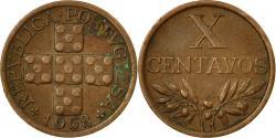 World Coins - Coin, Portugal, 10 Centavos, 1968, , Bronze, KM:583