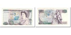 World Coins - Banknote, Great Britain, 20 Pounds, Undated (1970-91), KM:380d, EF(40-45)