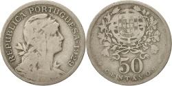 World Coins - Portugal, 50 Centavos, 1929, , Copper-nickel, KM:577