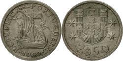 World Coins - Portugal, 2-1/2 Escudos, 1980, , Copper-nickel, KM:590