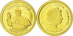 World Coins - Coin, Cook Islands, Dollar, 2013, , Gold