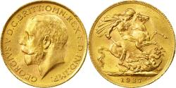 World Coins - Coin, South Africa, George V, Sovereign, 1927, Pretoria, , Gold, KM:21