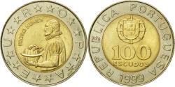 World Coins - Coin, Portugal, 100 Escudos, 1999, , Bi-Metallic, KM:645.1