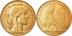 World Coins - Coin, France, Marianne, 20 Francs, 1902, , Gold, KM:847, Gadoury:1064
