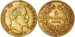 Ancient Coins - Coin, France, Napoleon III, 5 Francs, 1868, Paris, , Gold, KM 803.1