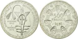 World Coins - Coin, West African States, 500 Francs, 1972, ESSAI, , Silver, KM:E7