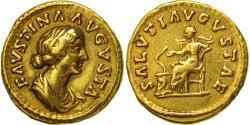 Faustina II, Aureus, Rome, , Gold, RIC:717a
