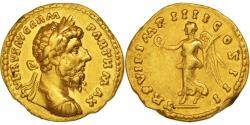 Coin, Lucius Verus, Aureus, Rome, graded, NGC, Ch VF, Gold, RIC:573, 3934397-002