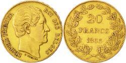 Ancient Coins - Coin, Belgium, Leopold I, 20 Francs, 20 Frank, 1865, EF(40-45), Gold, KM:23