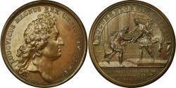 World Coins - France, Medal, Louis XIV, Campagne du Dauphin en Allemagne, 1688, Mauger