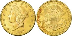 Us Coins - Coin, United States, Liberty Head, $20, Double Eagle, 1897, Philadelphia