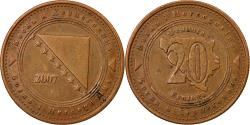 World Coins - Coin, BOSNIA-HERZEGOVINA, 20 Feninga, 2007, , Copper Plated Steel