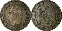 World Coins - Coin, France, Napoleon III, Centime, 1855, Rouen, , KM 775.2