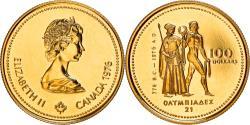World Coins - Coin, Canada, Elizabeth II, 100 Dollars, 1976, Royal Canadian Mint, Ottawa