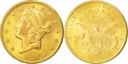 Us Coins - Coin, United States, Liberty Head, $20, Double Eagle, 1896, U.S. Mint, San