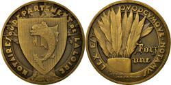 World Coins - France, Token, Notaires du Département de la Loire, 1936, , Bronze