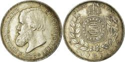 World Coins - Coin, Brazil, Pedro II, 500 Reis, 1888, , Silver, KM:480