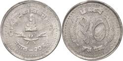 World Coins - Nepal, SHAH DYNASTY,Birendra Bir Bikram,10 Paisa,1992,,KM 1014.2